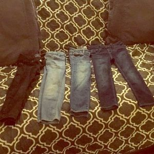 Girls gap jeans 4 for $30